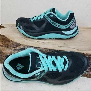 Vasque Trailblender Black Teal Trail Running Shoes
